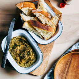 Roasted Zucchini and Fennel Dip with Chipotle Tabasco