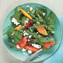 Roasted Beets and Citrus with Feta