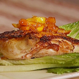 Roasted Chicken Breast with Marmalade