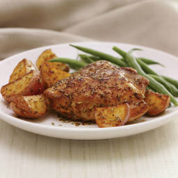 Roasted Chicken & Potatoes with Rosemary