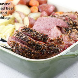 Roasted Corned Beef and Cabbage