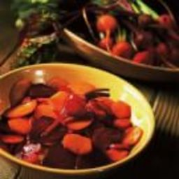 Roasted Red and Yellow Beets with Balsamic Glaze