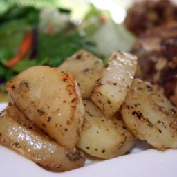 Robyn's Crock Pot Herb Roasted Potatoes