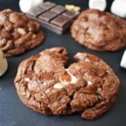 Rocky Road Fudge Cookies