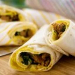 Rolled Omelet Burrito