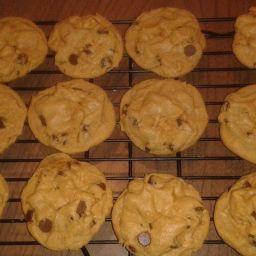 Rolo Stuffed Pumpkin Spice Pudding Cookies