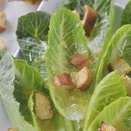 Romaine Lettuce Salad with Lemon Vinaigrette!