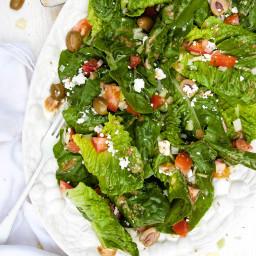 Romaine Salad with Chianti Balsamic Vinaigrette
