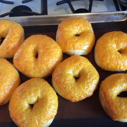 Rons Cheddar Cheese Bagels