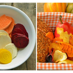 Root Veggie Chips Recipe – Healthy Lunch Idea for Kids