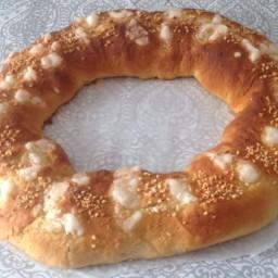 Roscón de Reyes sin leche y sin huevo con Thermomix®