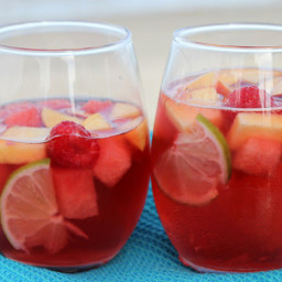 Rosé Sangria- The Perfect Summer Cocktail