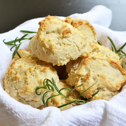 rosemary and pepper drop biscuits