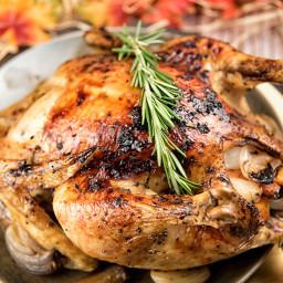 Rosemary-Honey Roast Chicken Recipe