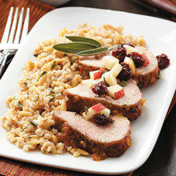 Rosemary & Orange-Glazed Pork Tenderloin