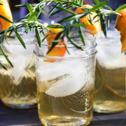Rosemary Peach Whiskey