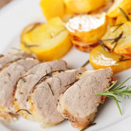Rosemary Roast Pork Tenderloin