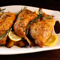 Rosemary Roasted Chicken and Potatoes