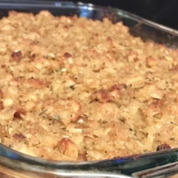 Rotisserie Chicken and Stuffing Casserole Recipe