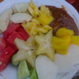 Rujak (Hot, Spicy Fruit Salad)