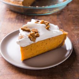 Rum Pumpkin Chiffon Pie