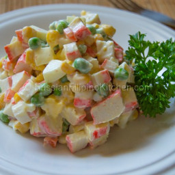 Russian Crab and Corn Salad