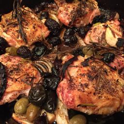 Rustic Roasted Chicken Provençal