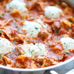 Rustic Skillet Lasagna
