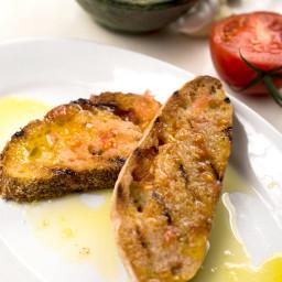 Rustic Tomato Toast