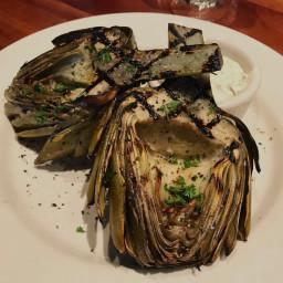 Grilled Artichoke's