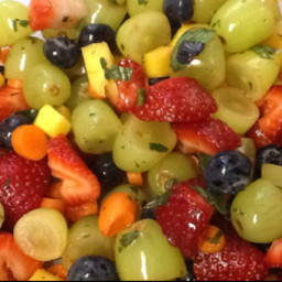 Ruthie's Mostly-Fruit Salad
