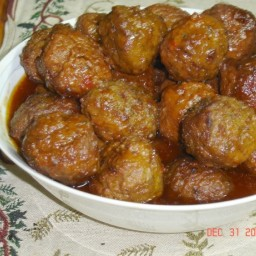 Ruth's Beer Marinated Meatballs