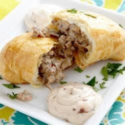 RWOP Finalist: Breakfast Empanadas with Chipotle Cream