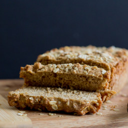 Rye and Oatmeal Beer Bread