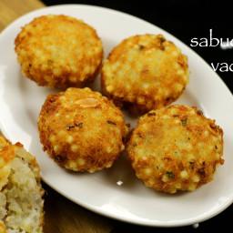 sabudana vada recipe | sago vada recipe | sabakki vada recipe
