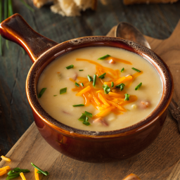 Saco Cheddar and Pepper Jack Cheese Soup