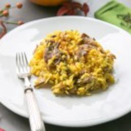 Saffron and Wild Mushroom Risotto