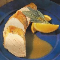 Sage and Orange Sauce with Pork Fillet