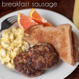 Sage Breakfast Sausage Recipe