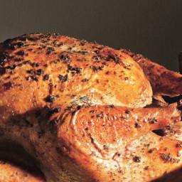 Sage Butter-Roasted Turkey with Cider Gravy