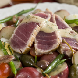 Salad Nicoise with Seared Tuna