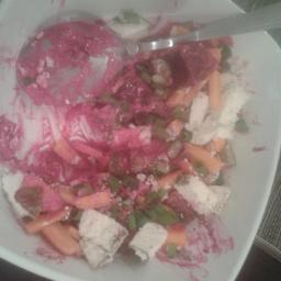 Salada doce— azeda