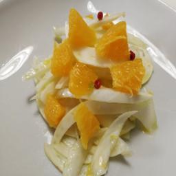 Salade de fenouils et orange