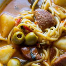 Salami Soup