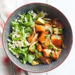 Salmon & Avocado Poke Bowl Recipe