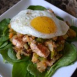 Salmon and Potato Hash