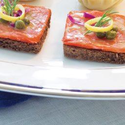 Salmon Canapés