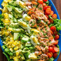 Salmon Cobb Salad Recipe: