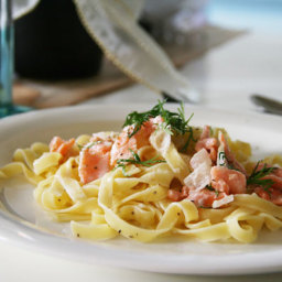 Salmon Lemon Pasta