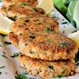 Salmon Quinoa Patties